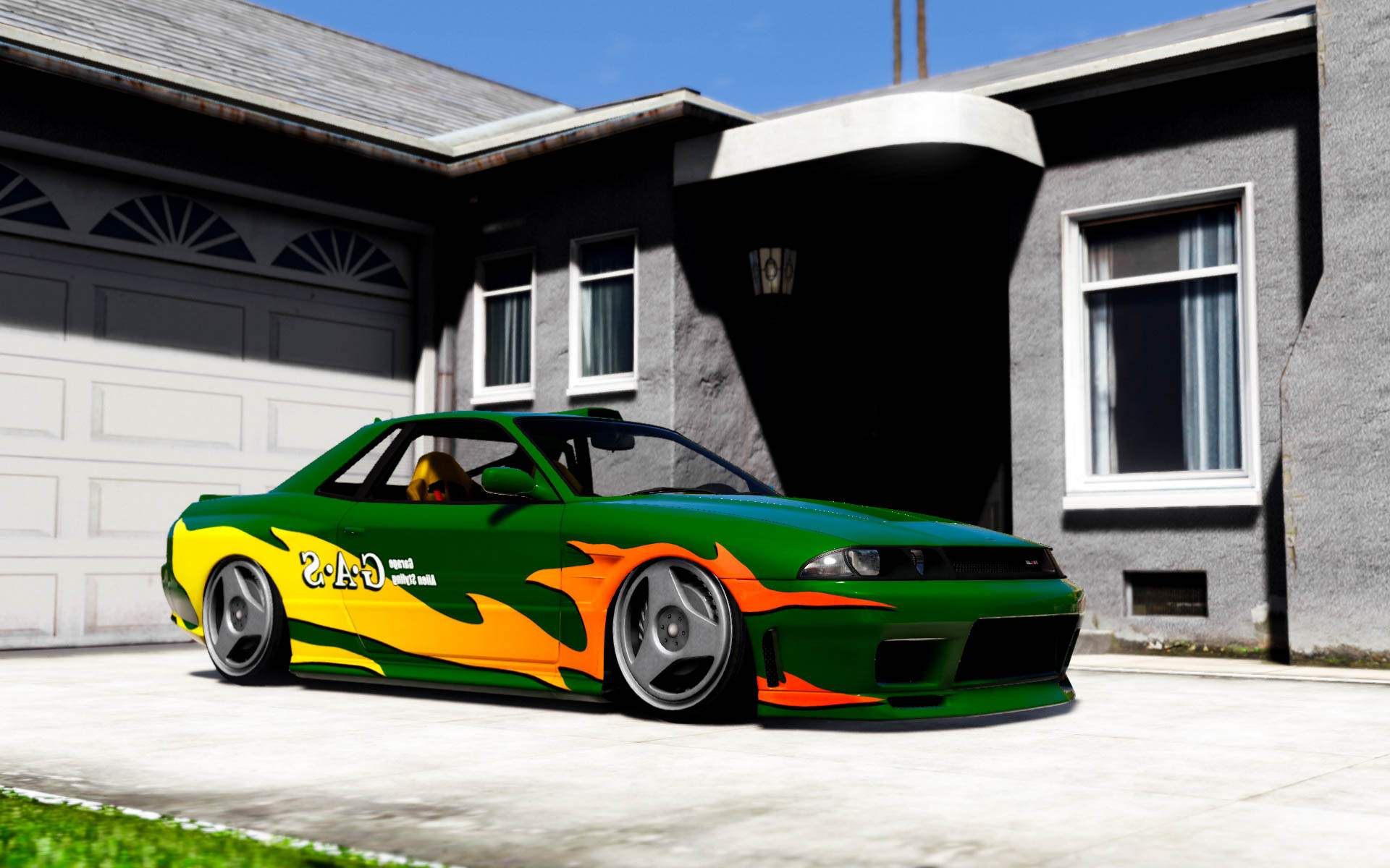 Garage alien styling elegy pack gta5 for Garage electricite auto 95