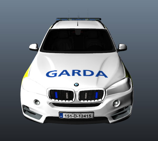 Bmwplain: Garda Regional Support BMW X5 & Peds
