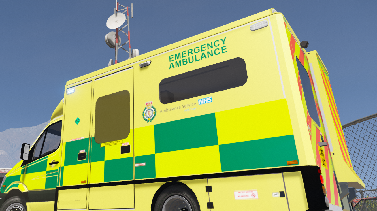 Generic British Ambulance Service Skin Pack - GTA5-Mods.com