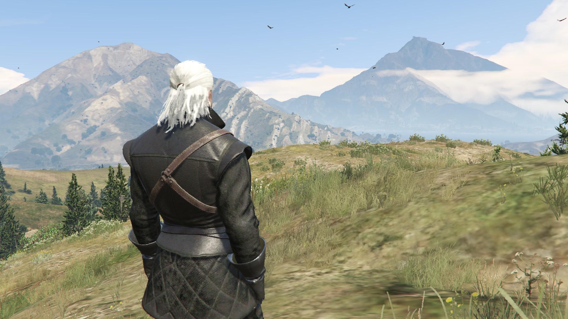 Geralt of Rivia New Moon Gear [Add-On Ped] - GTA5-Mods com