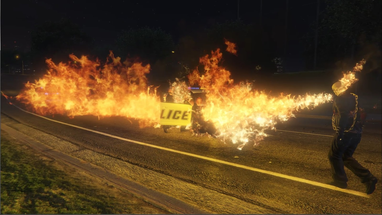 Ghost Rider Mod Gta – HD Wallpapers