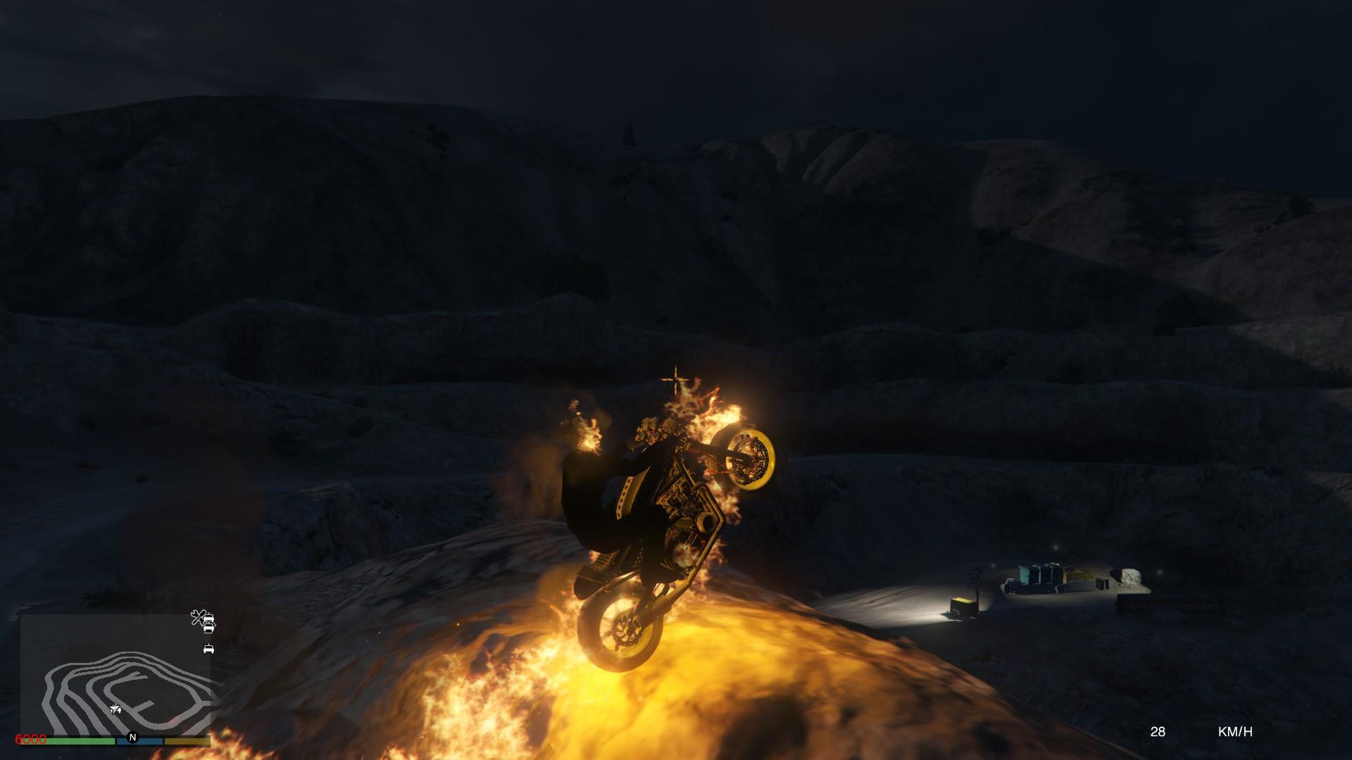 Ghost Rider Spirit of Vengeance Mine Battle - GTA5-Mods com