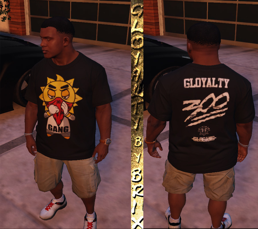 Gloyalty 300 shirt black glo gang gta5 mods 047aff 1 publicscrutiny Images