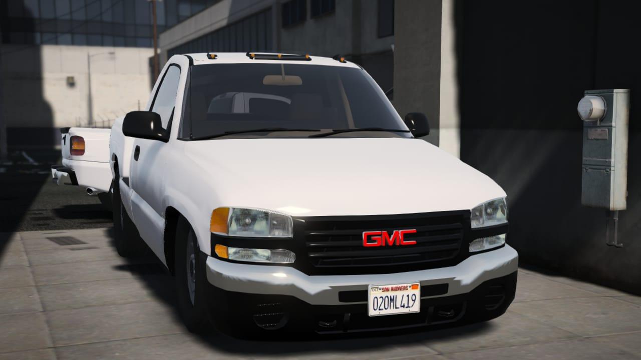 GMC Sierra 2006 - GTA5-Mods com