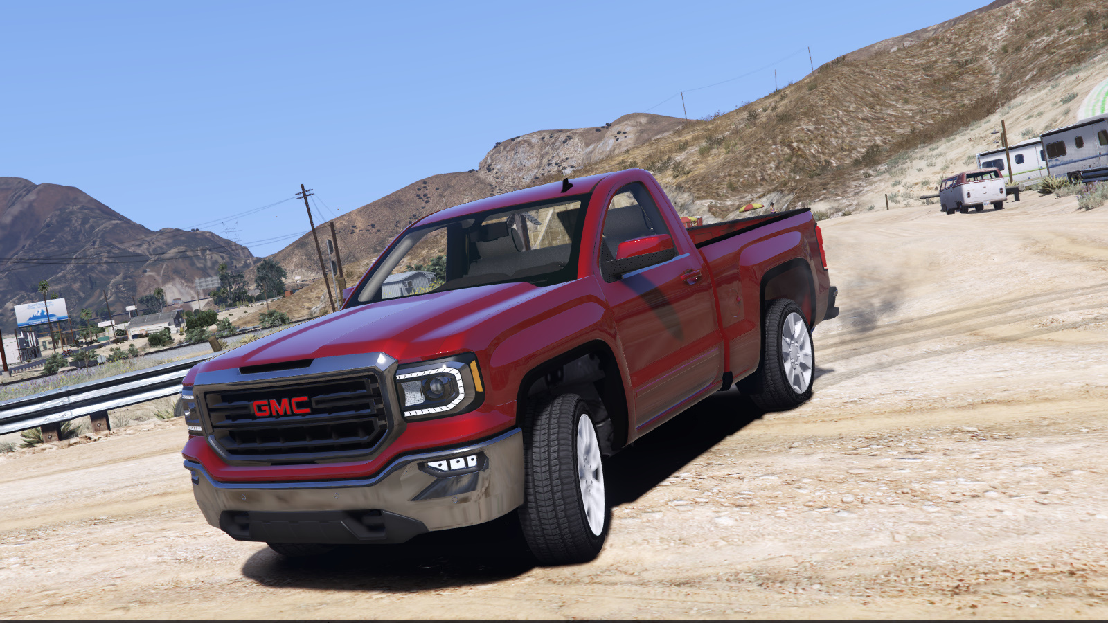 gmc sierra 2018 single cab unlocked gta5. Black Bedroom Furniture Sets. Home Design Ideas