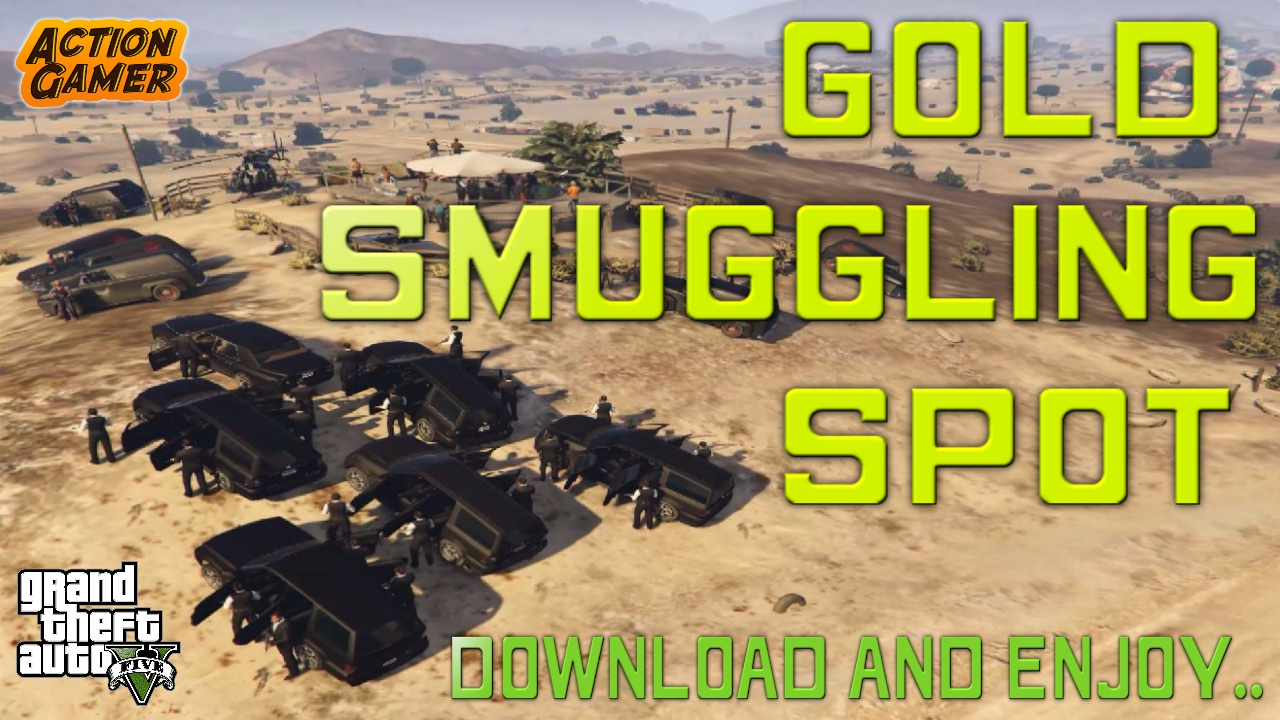 Gold Smuggling Spot - GTA5-Mods com