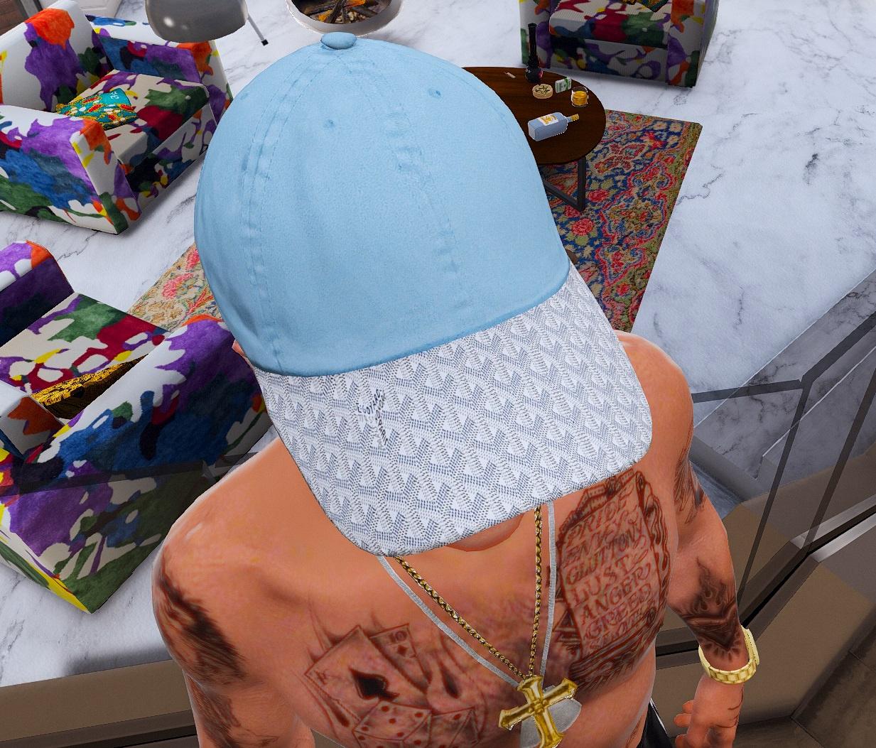 a492e611d65 4K  Goyard Dad Hat Collection - GTA5-Mods.com