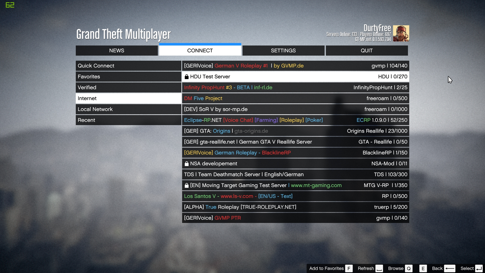 Grand Theft Multiplayer - GT-MP alternative Multiplayer - GTA5-Mods com