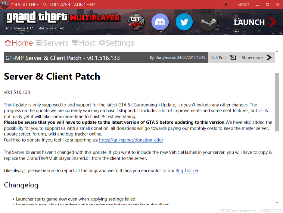 Grand Theft Multiplayer - GT-MP alternative Multiplayer - GTA5-Mods com