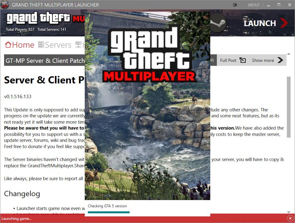 Grand Theft Multiplayer - GT-MP alternative Multiplayer