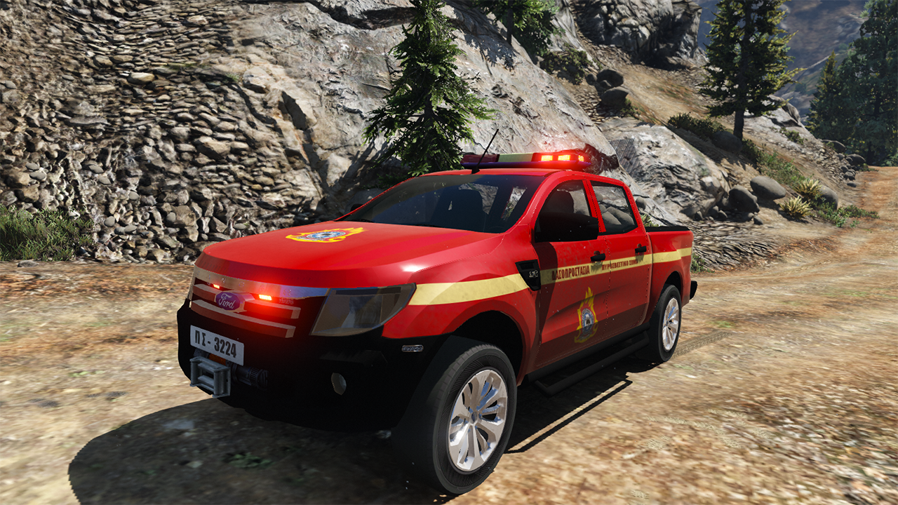 greek forest guard firefighting ford ranger gta5. Black Bedroom Furniture Sets. Home Design Ideas