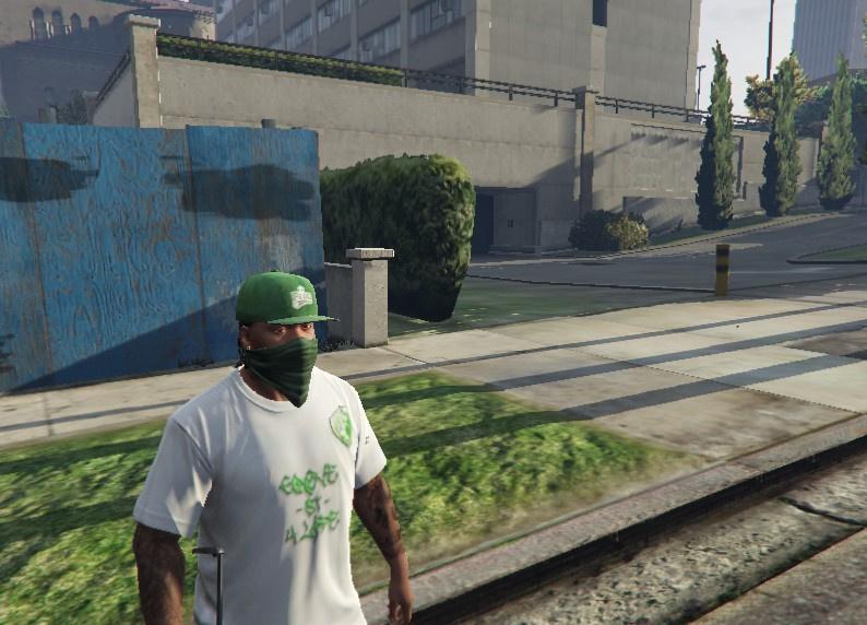 Grove St. 4 Life OG Shirt GTA5