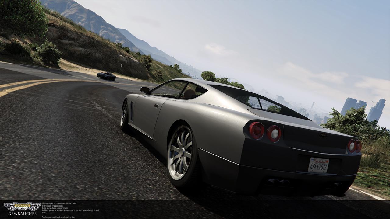 GTA IV Super GT - GTA5-Mods com
