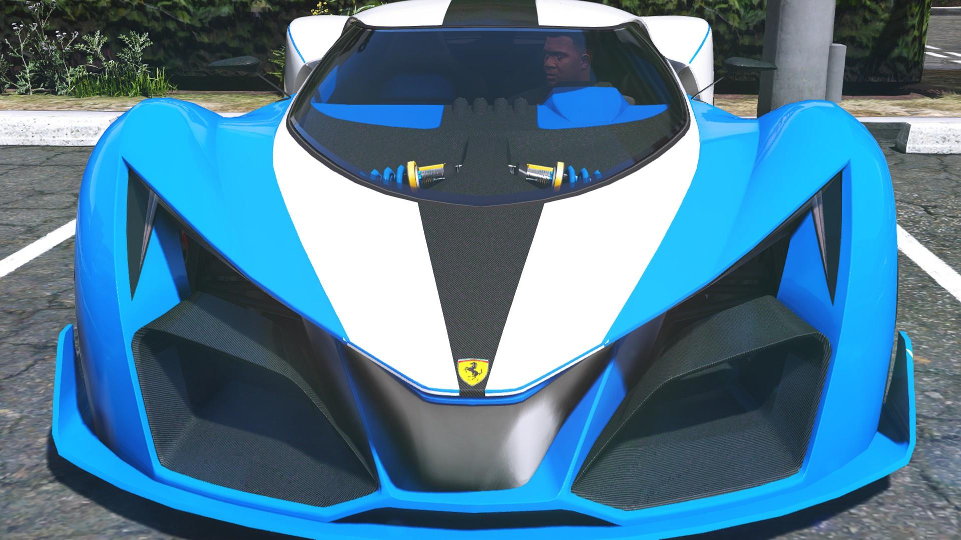 A F on Lamborghini Family Car