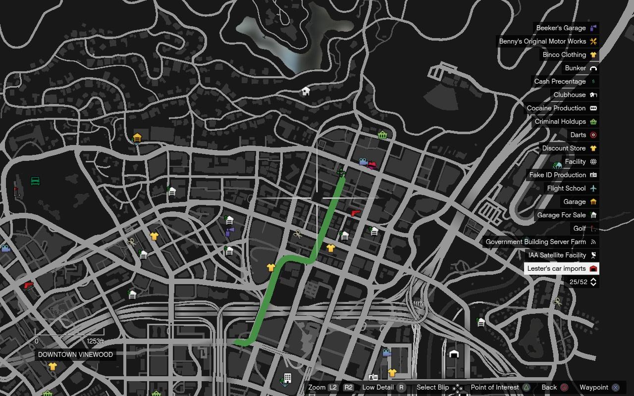 Gta 4 Stevie Autos Karte.Waypoint Retexure S Gta5 Mods Com
