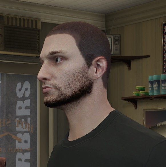 GTA Online stubble beard retexture - GTA5-Mods.com