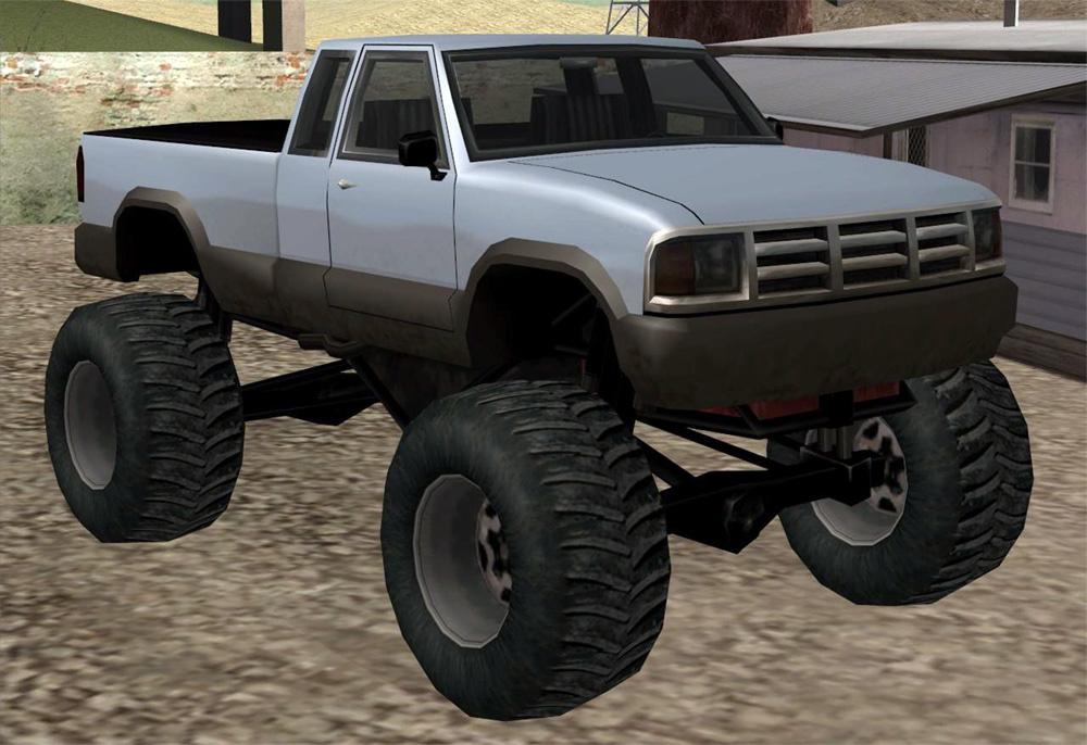 san andreas monster truck sound new handling gta5. Black Bedroom Furniture Sets. Home Design Ideas