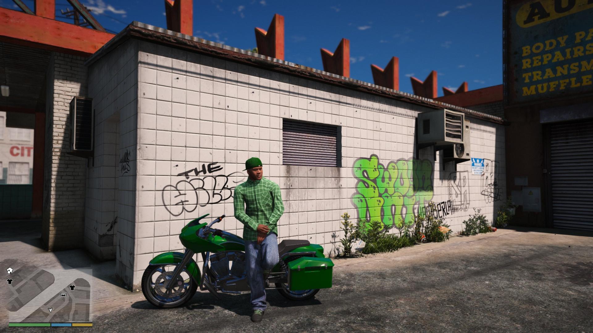GTA V FRANKLİN NEW GANGSTER CLOTHES - GTA5-Mods com