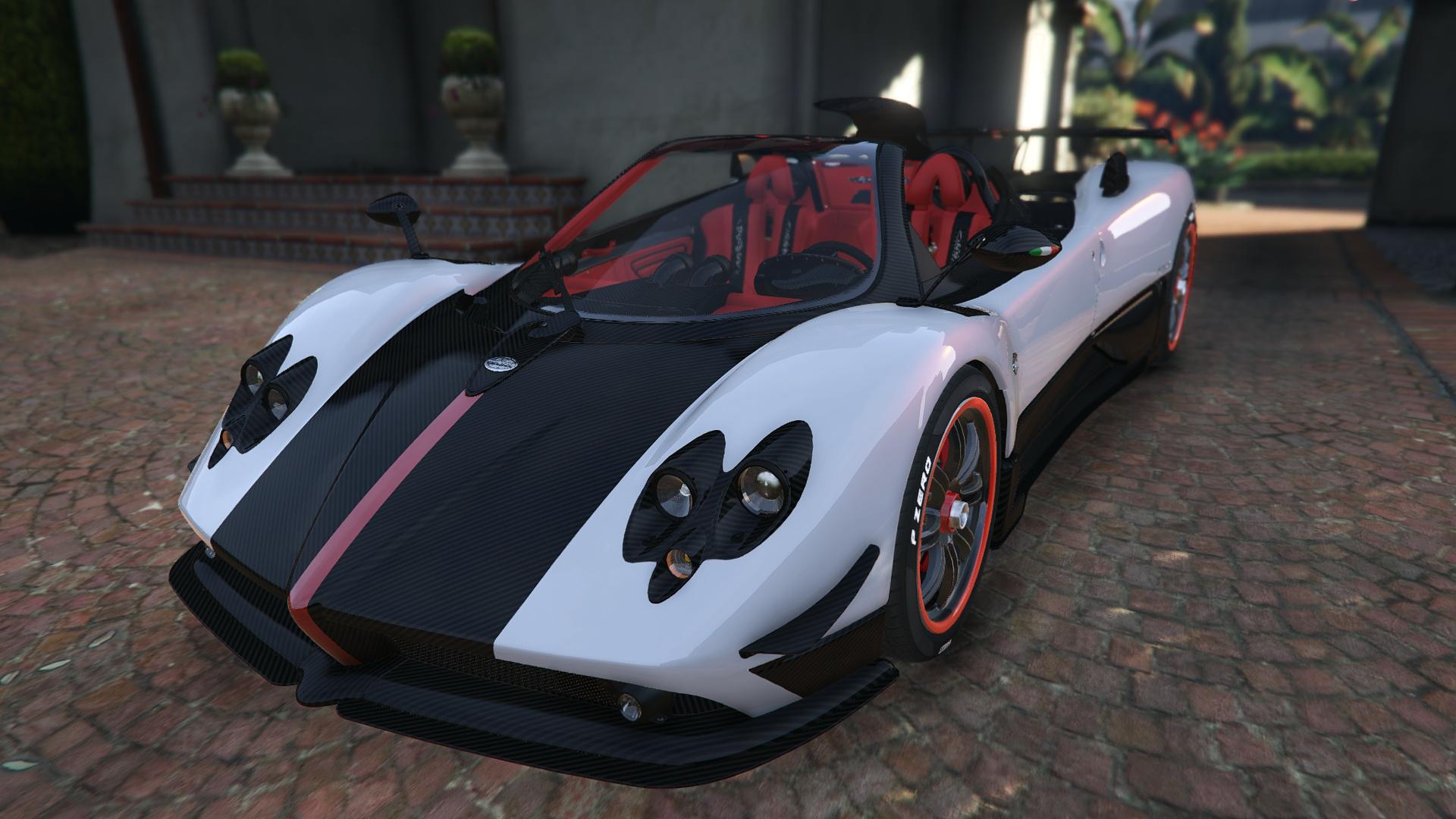 Pagani Zonda Cinque Roadster Gta5 Modscom