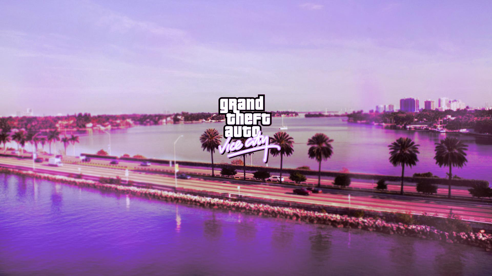GTA Vice City Definitive Edition Loading Screen Pack - GTA5
