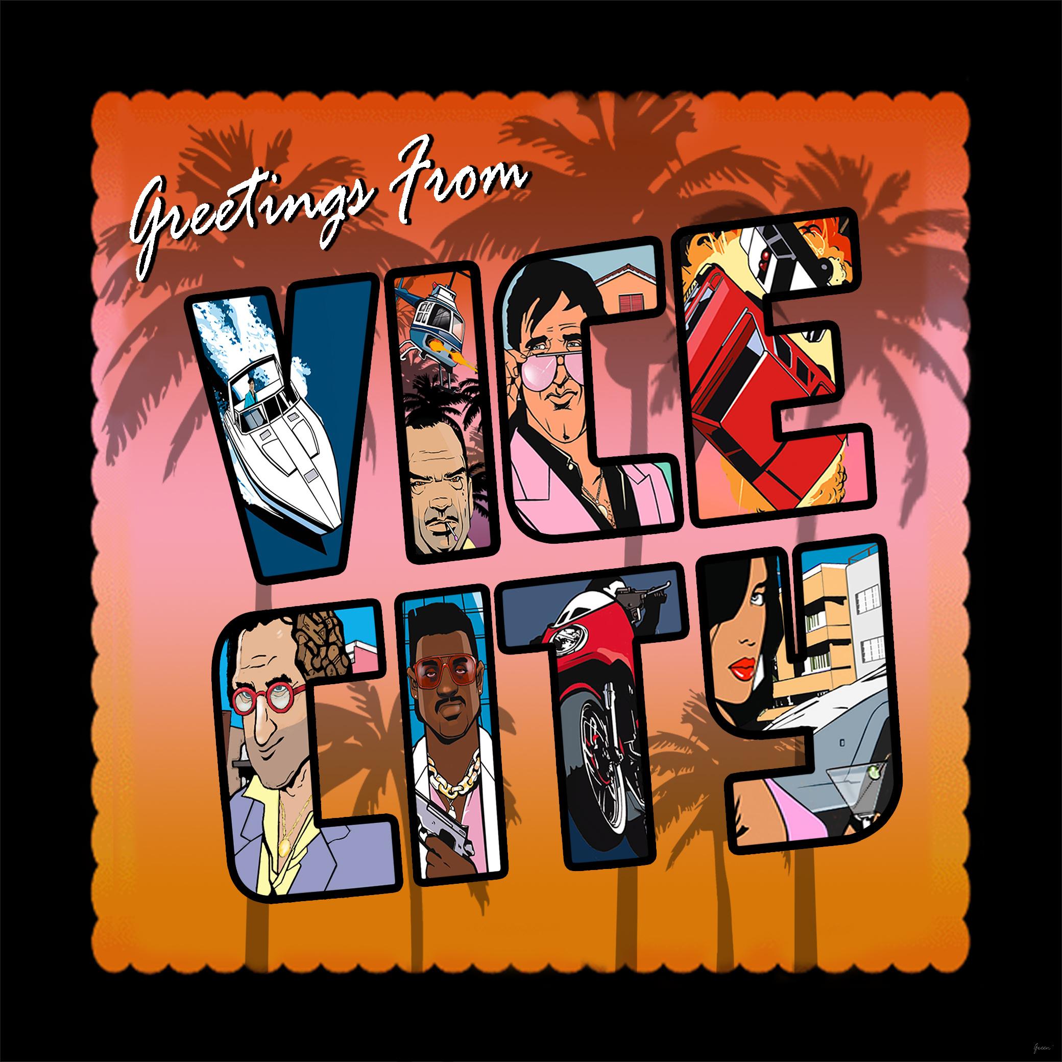 Gta Vice City Definitive Edition Loading Screen Pack Gta5