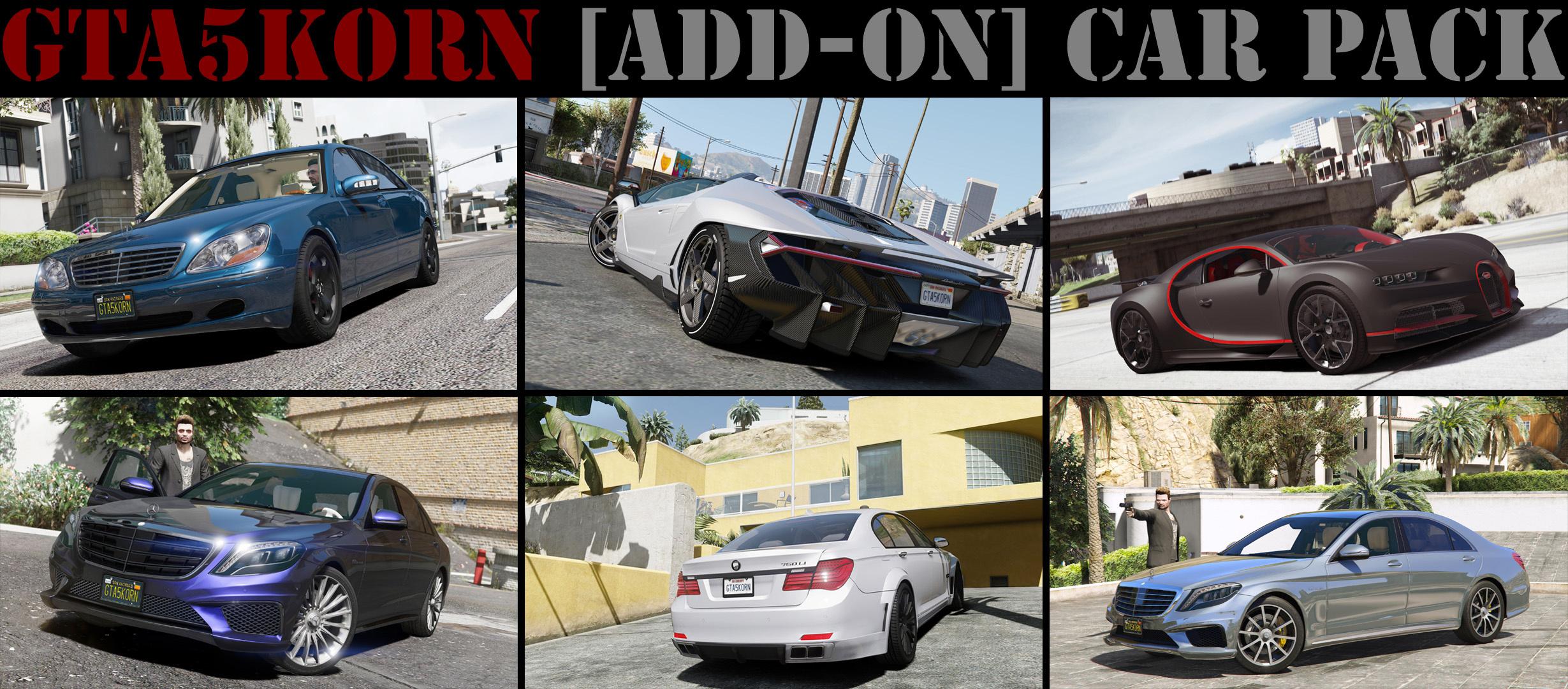 Gta5KoRn Car Pack (48 cars) - GTA5-Mods com