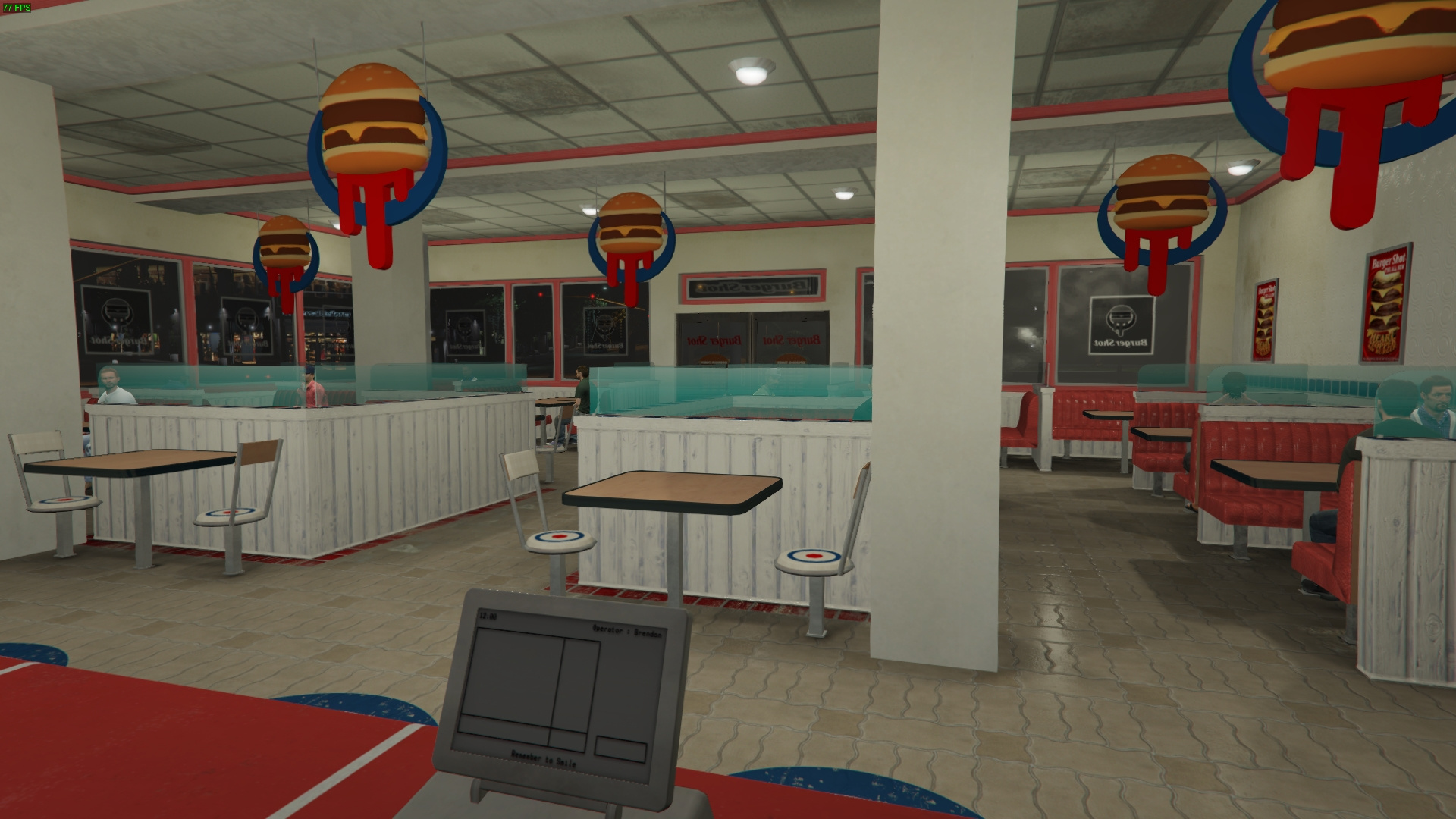 GTAIV Burgershot Interior SP and FiveM - GTA5-Mods com