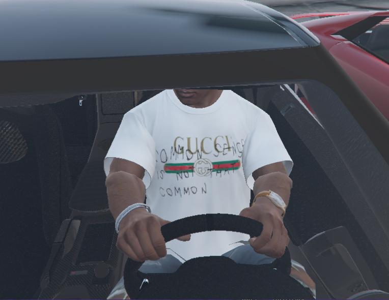 7d56dfd80 Gucci Common Sense T-Shirt - GTA5-Mods.com