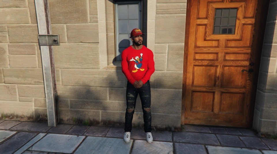 Gucci Donald Duck Sweater Gta5 Modscom