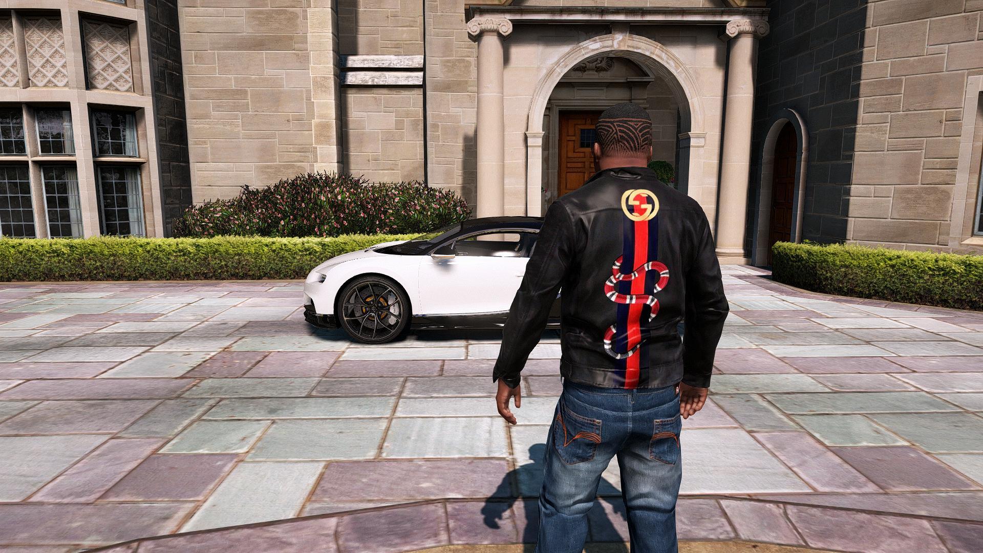 Gucci Leatherjacket for Franklin - GTA5-Mods.com