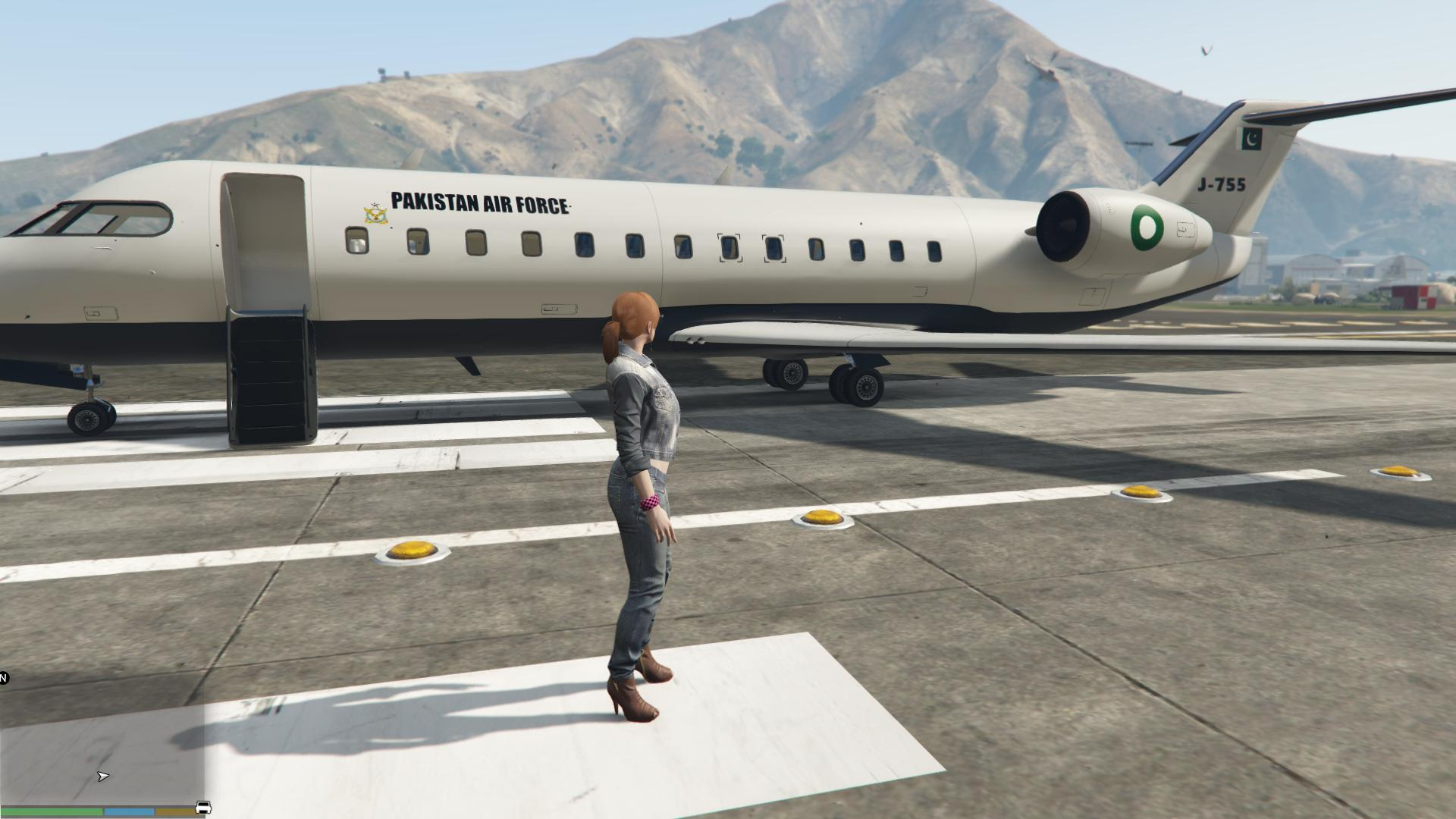 how to fly a jet in gta 5