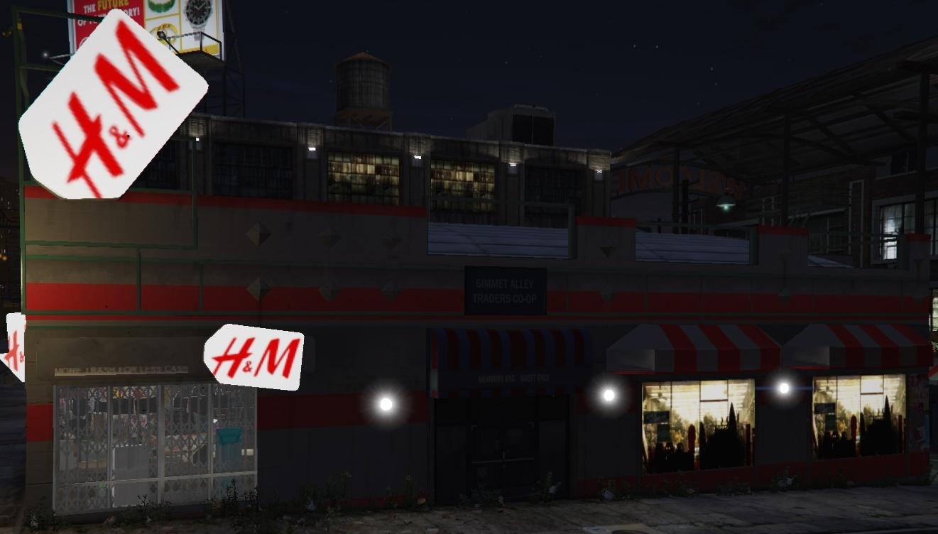 H&M Clothing store - GTA5-Mods com