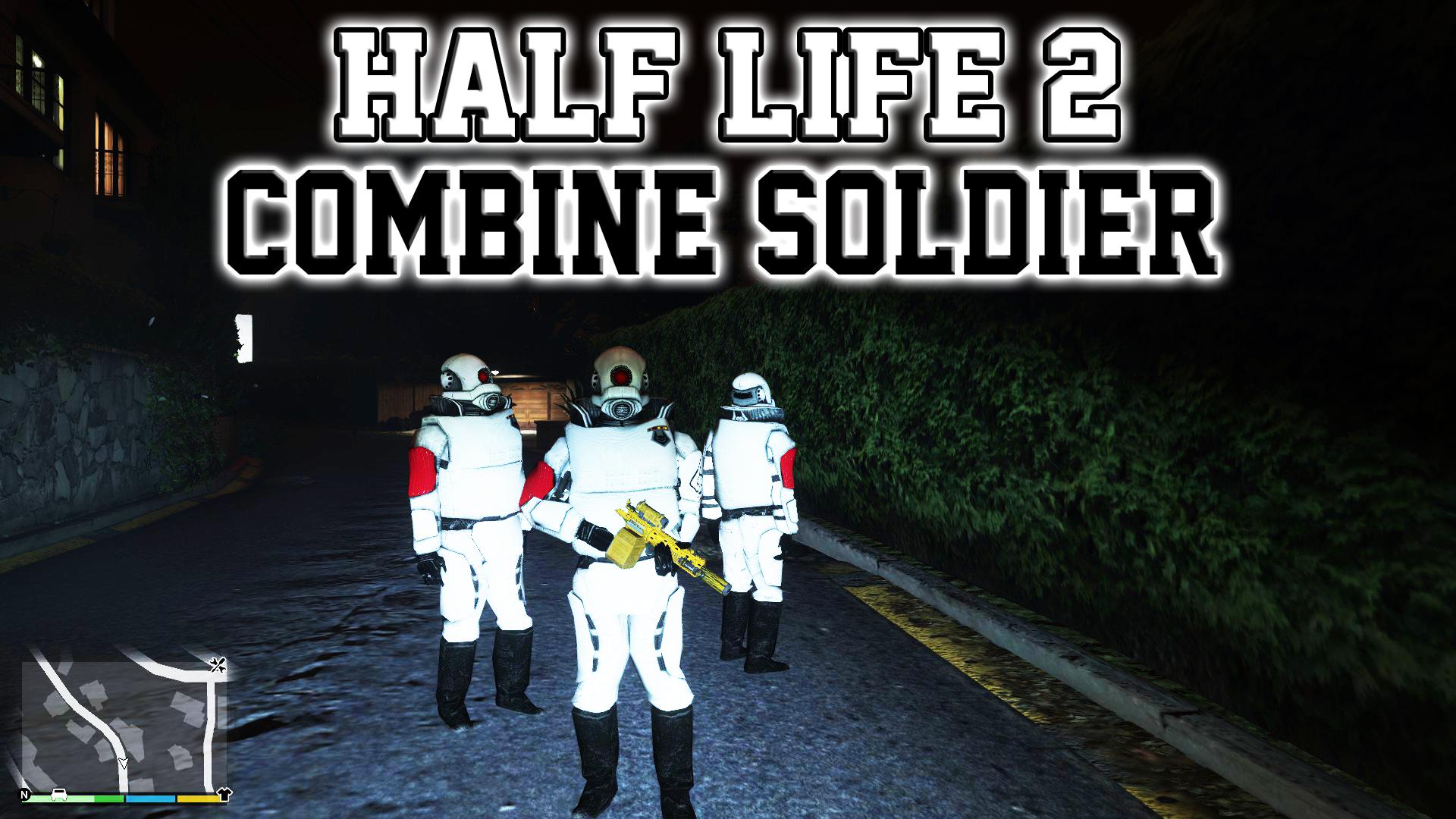 Half Life 2 Combine Elite Soldier Gta5 Mods Com