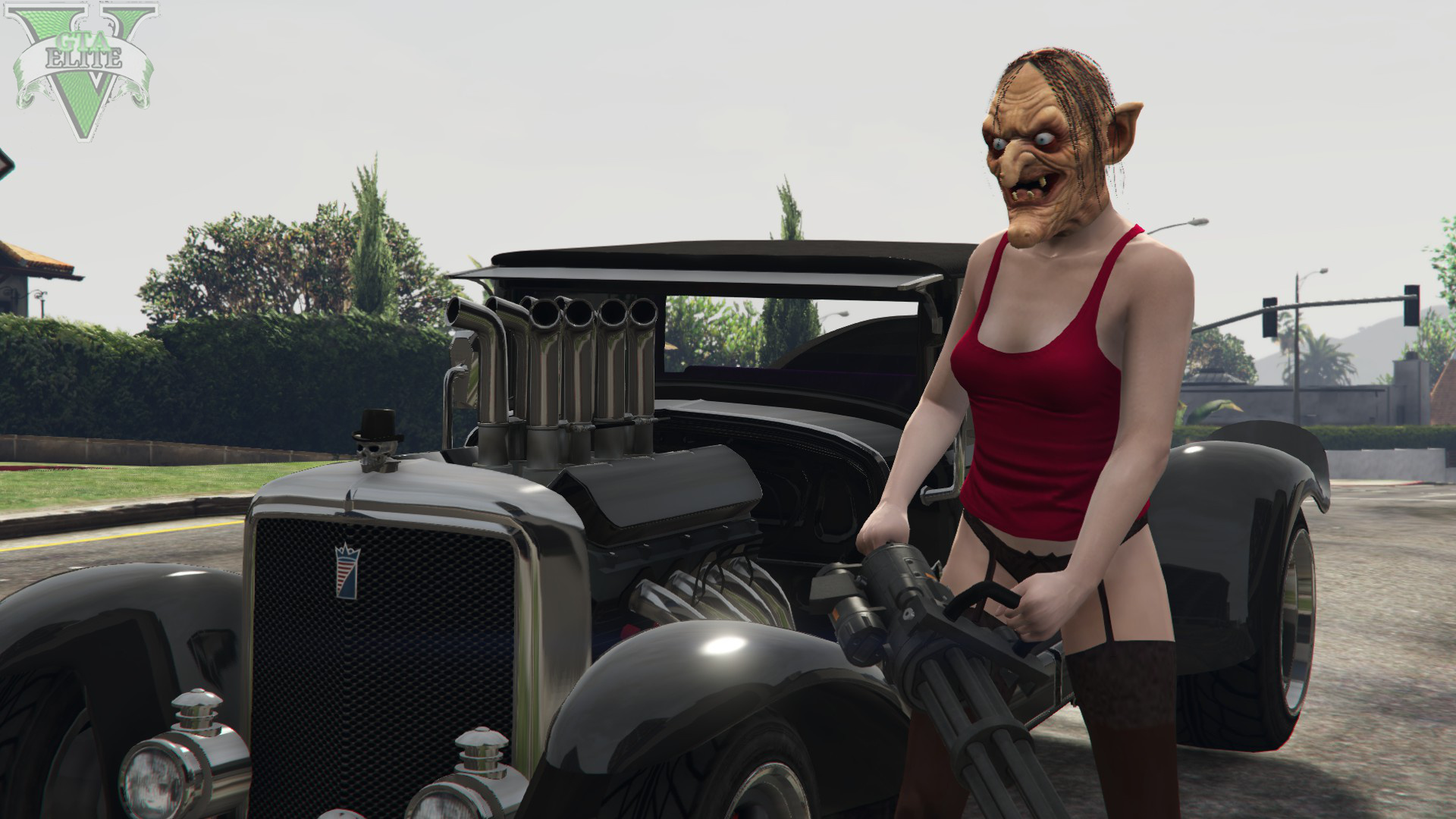 Halloween DLC masks for free mode Male + Female - GTA5-Mods.com