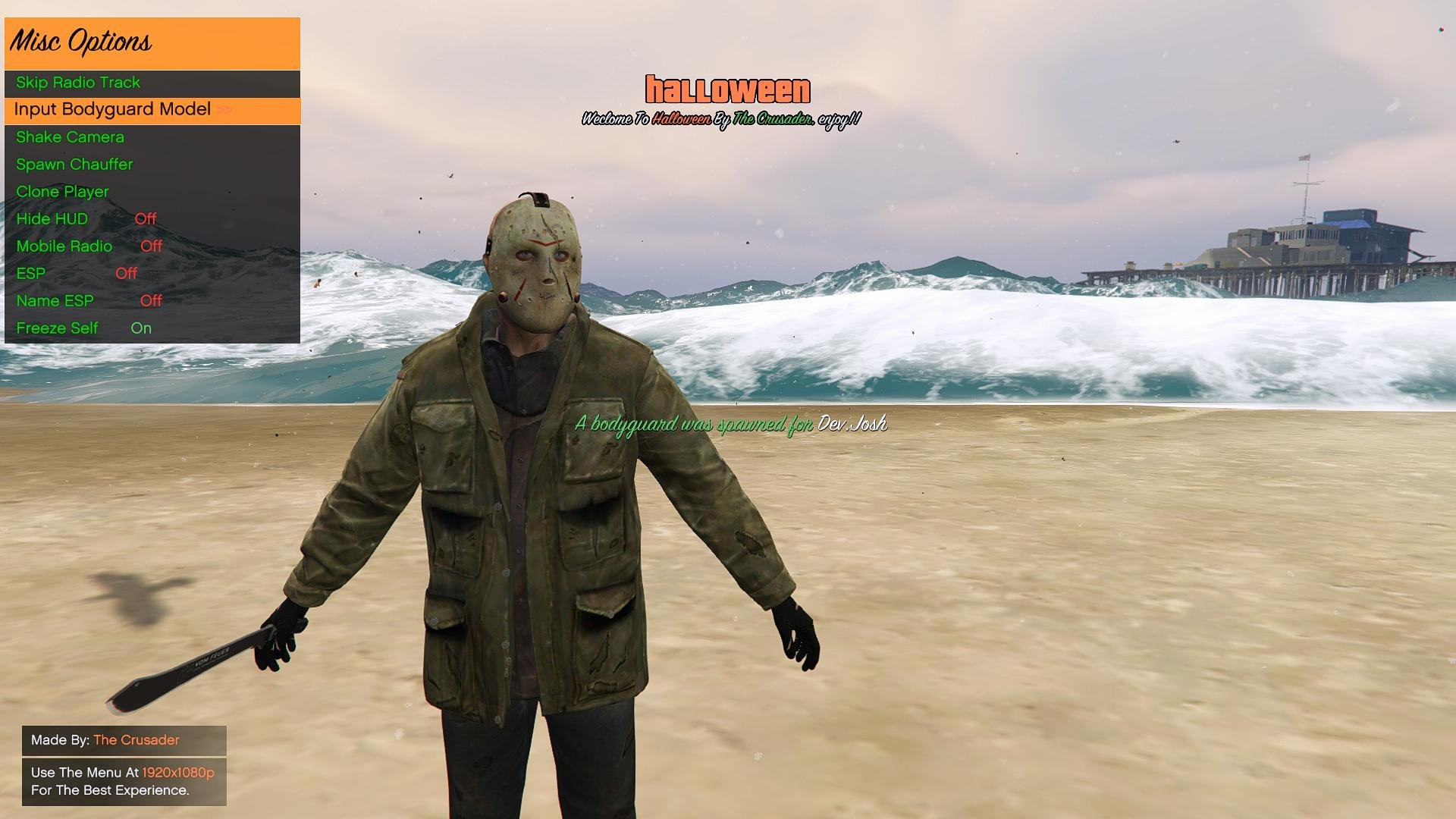 Halloween Mod Menu (Open Source) - GTA5-Mods com