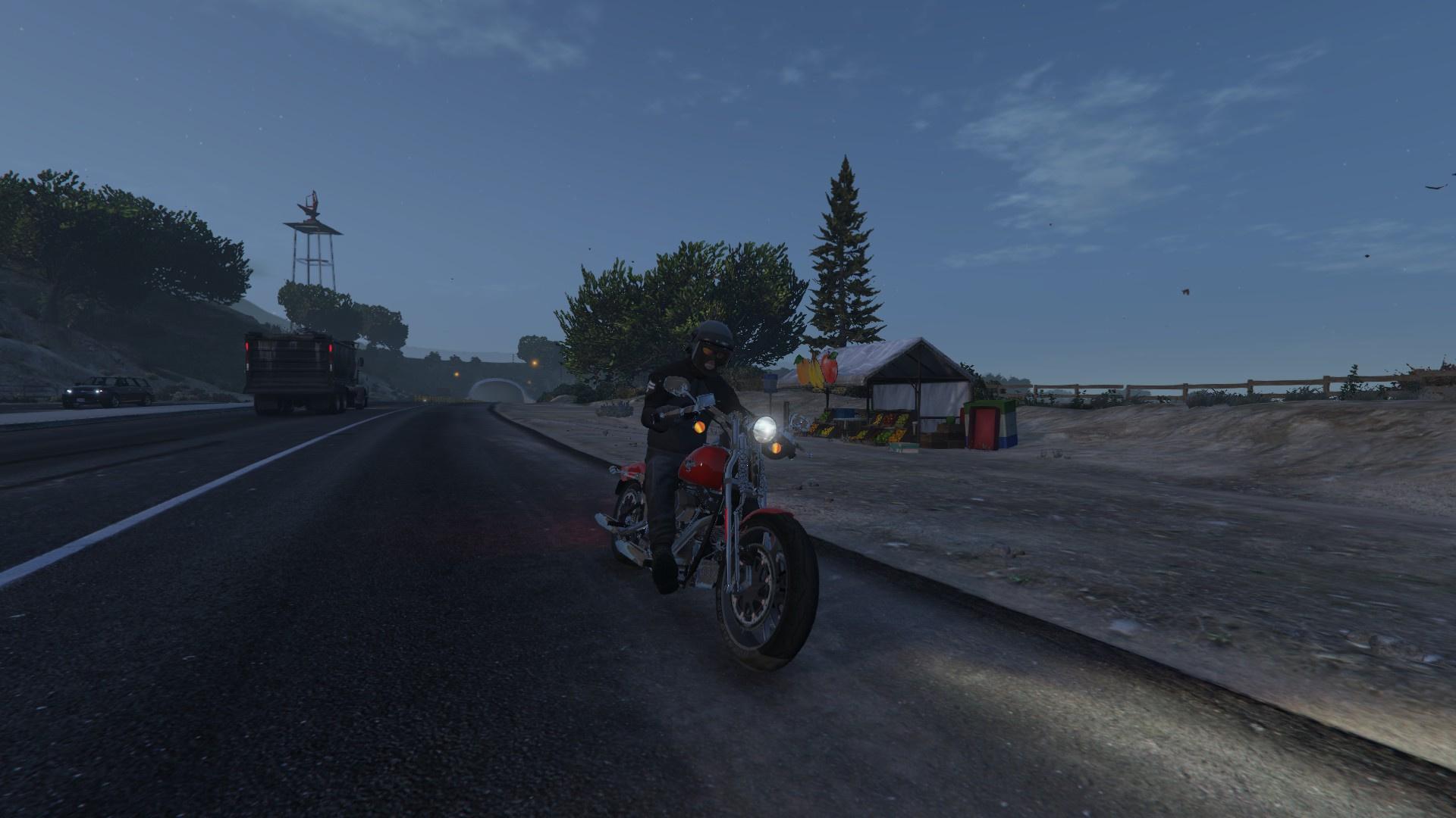 Harley-Davidson FXSTS Springer Softail - GTA5-Mods com