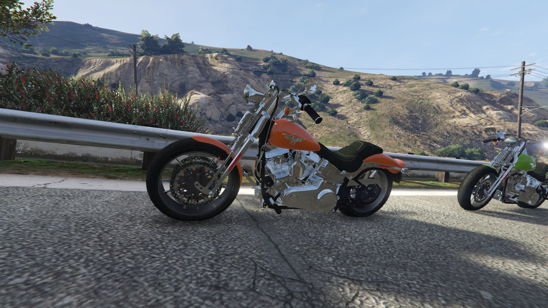Harley Davidson Fxsts Springer Softail Gta5 Mods Com