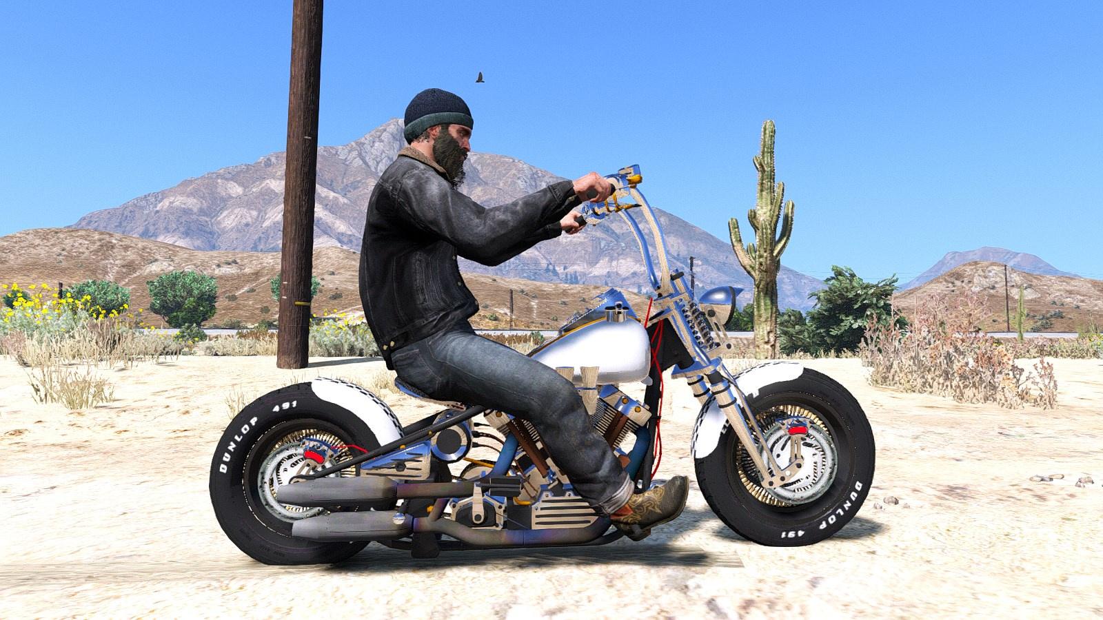 Harley Davidson: Harley-Davidson Knucklehead [Animated