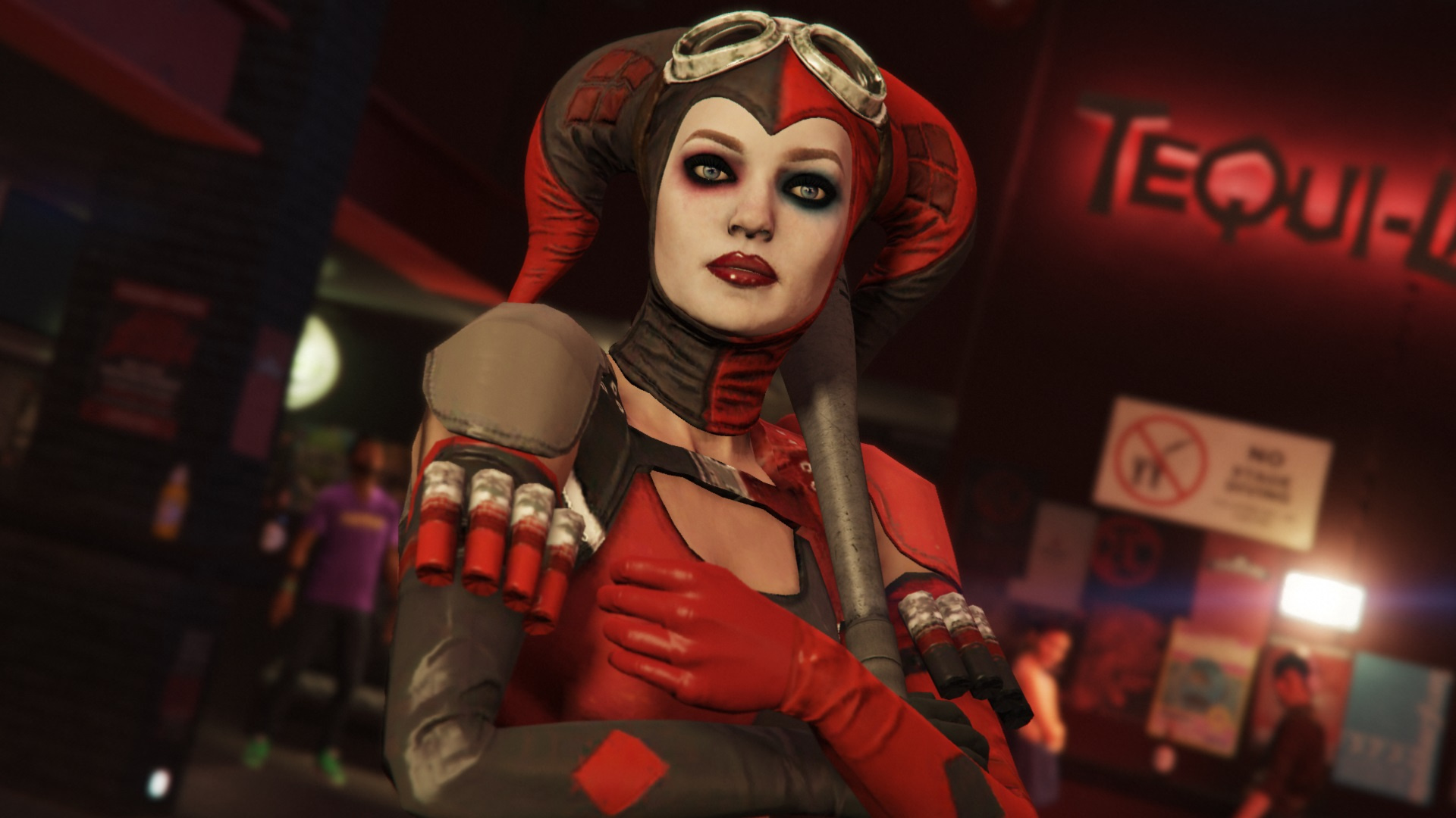 Harley Quinn Injustice 2 Add On Ped Replace Gta5 Mods Com