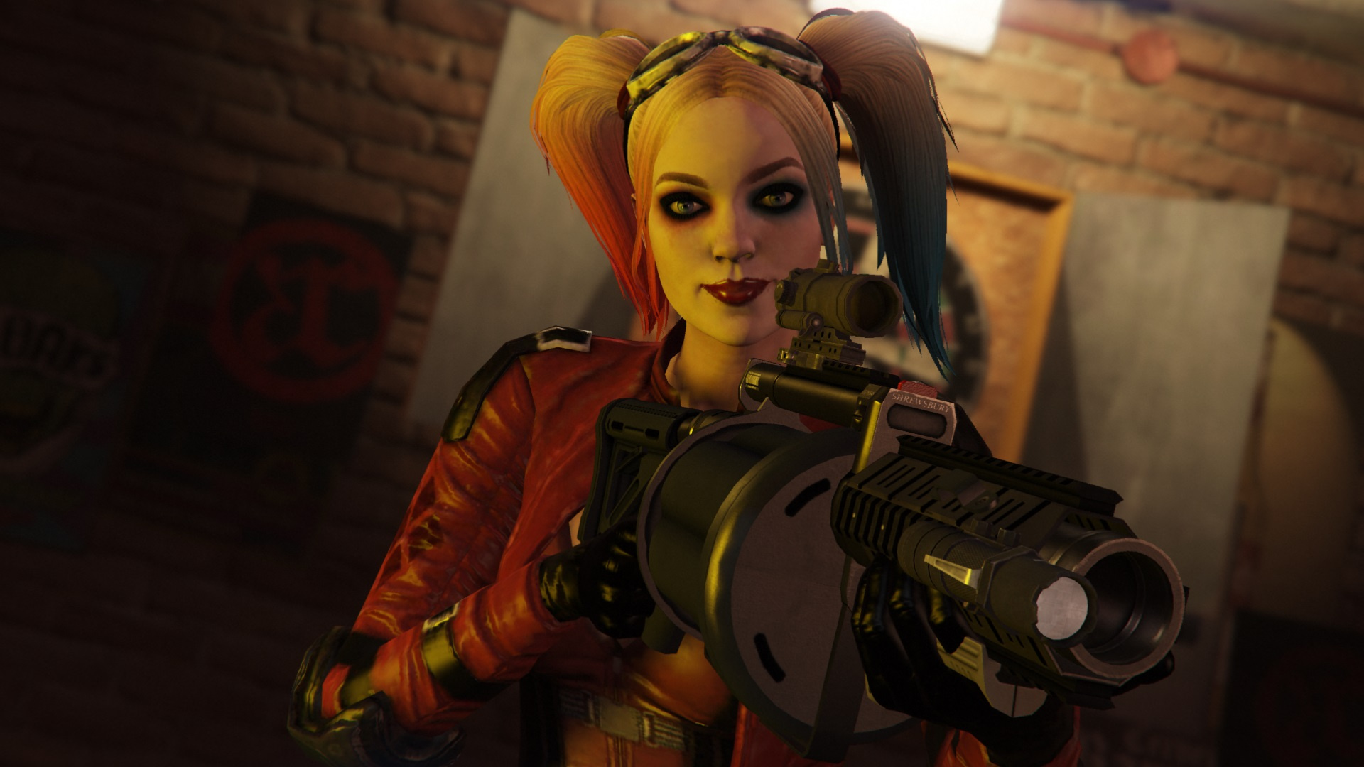 Harley Quinn Injustice 2 [Add-On Ped | Replace] - GTA5-Mods com