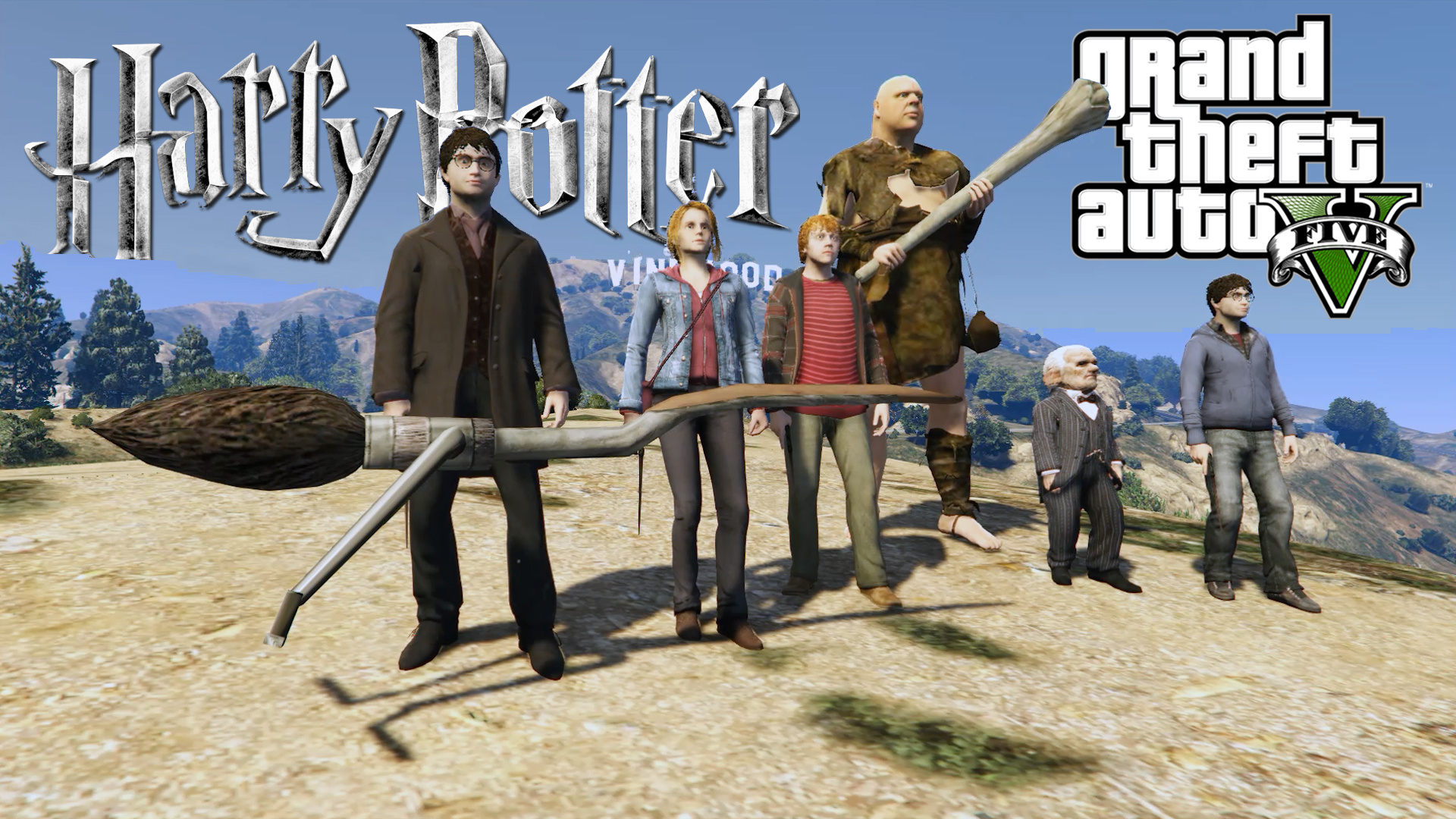 Harry Potter Character Package [Add-On Ped] - GTA5-Mods com