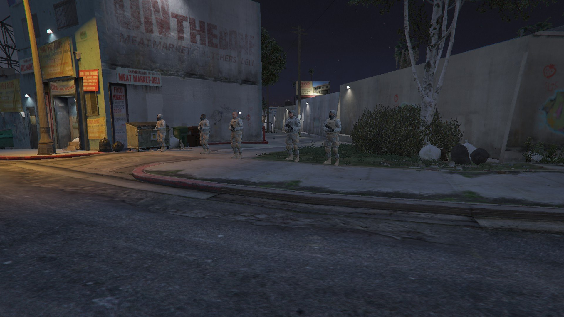 Heavy Barrier (Protect VIPS, LSPDFR Blockade, Protect Player