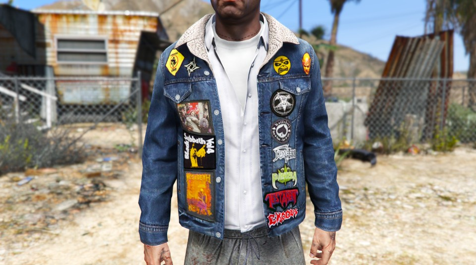 Heavy Metal Battle Jacket for Trevor - GTA5-Mods.com