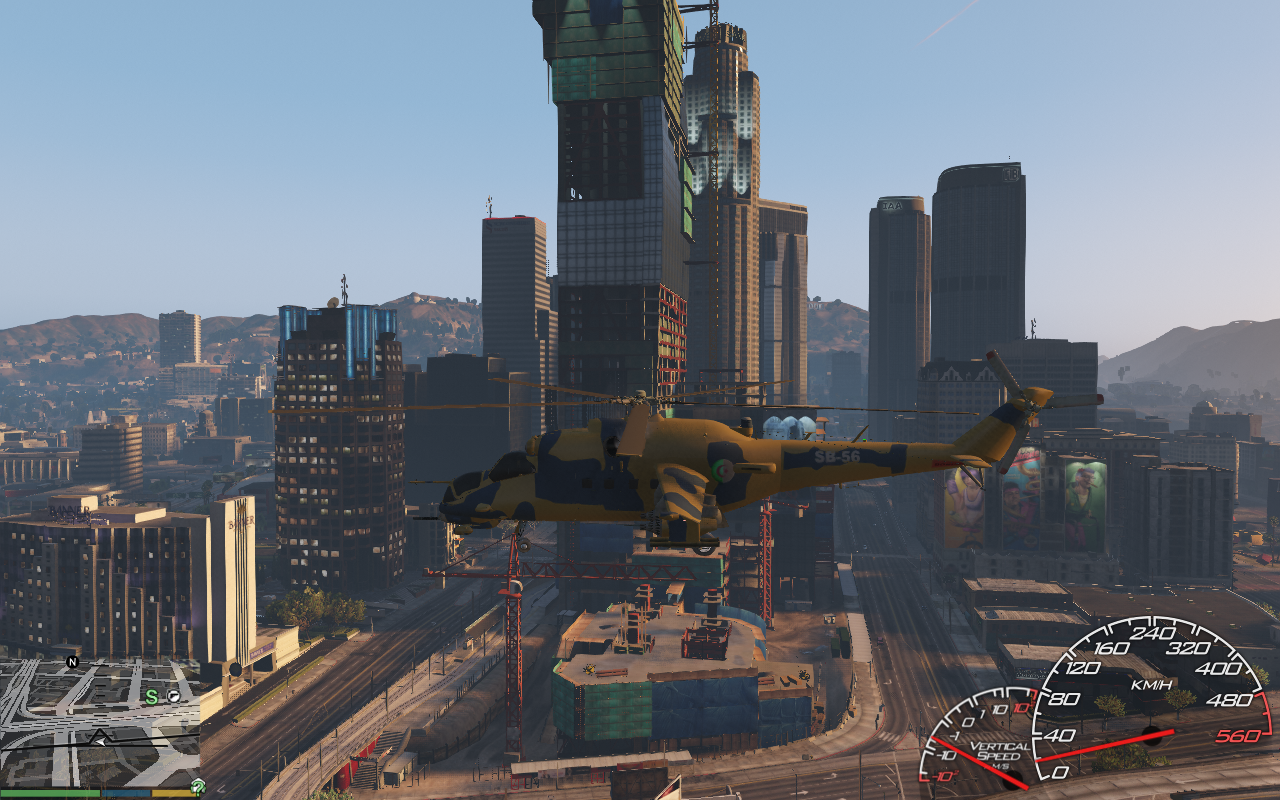 Id Theft Protection >> Helicopter algerie Mi-24 - GTA5-Mods.com