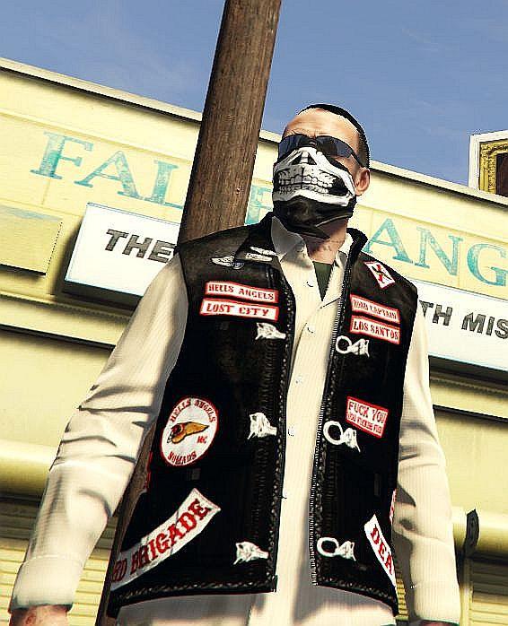 Hells Angels Vest Pack & Gloves for Trevor - GTA5-Mods com