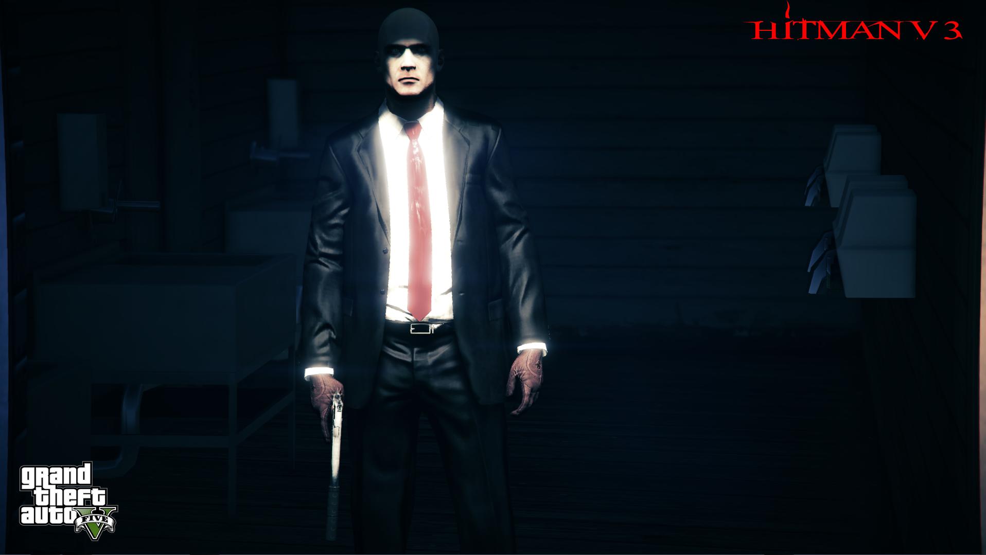 hitman world of assassination add on ped replace fivem