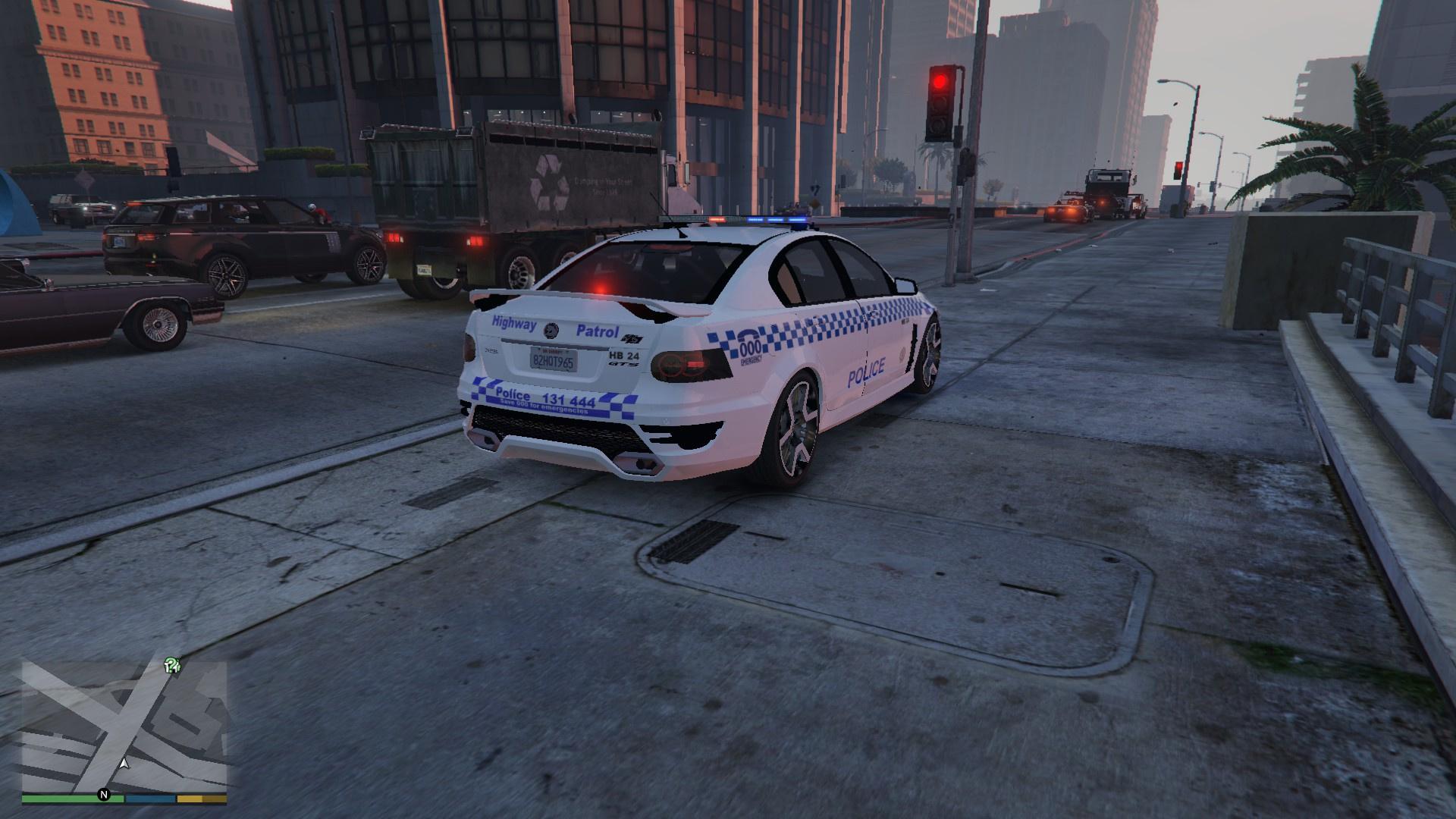 Holden HSV GTS NSW Police - GTA5-Mods com
