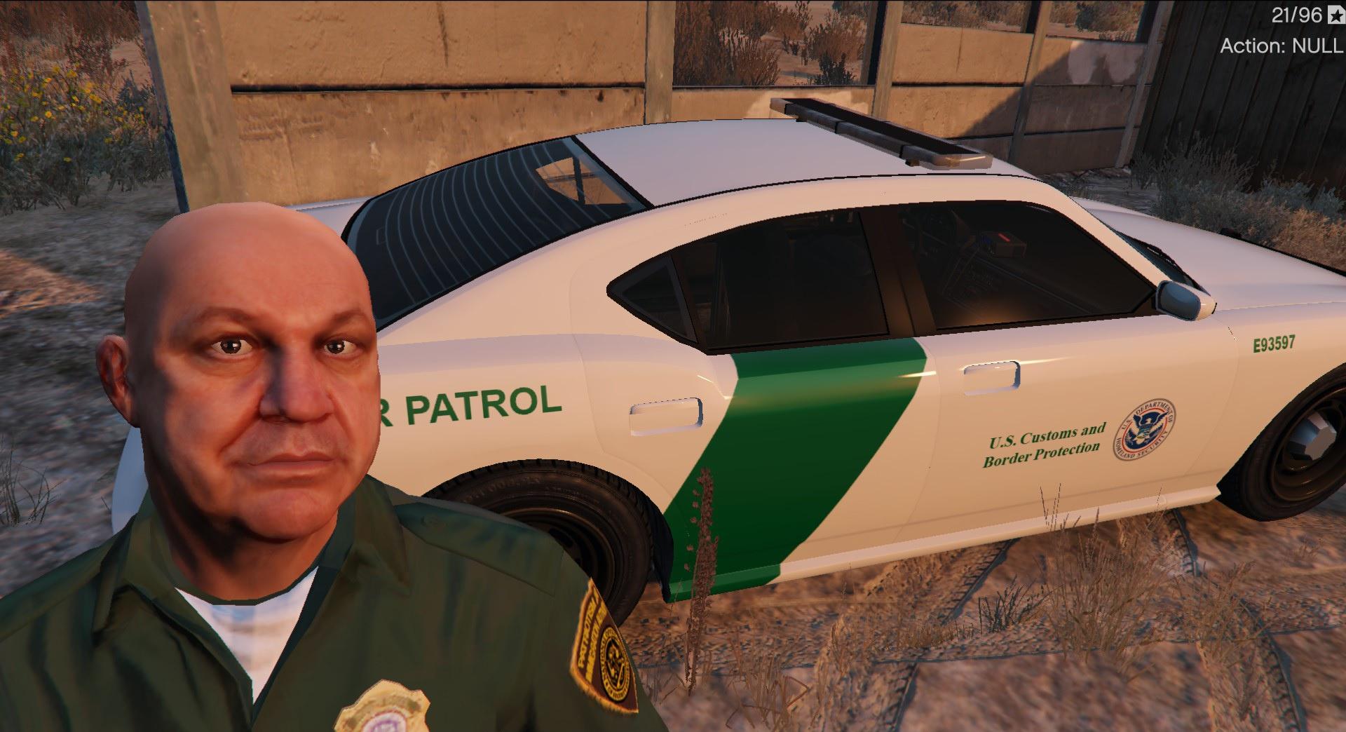 Border Patrol DHS & LS Sheriff Buffalo Texture Pack GTA5 Mods