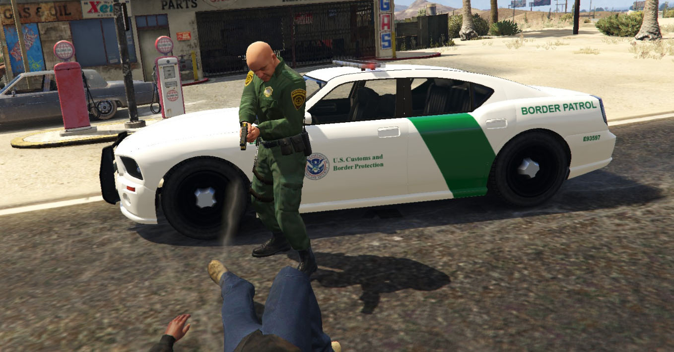Border Patrol, DHS & LS Sheriff Buffalo Texture Pack - GTA5