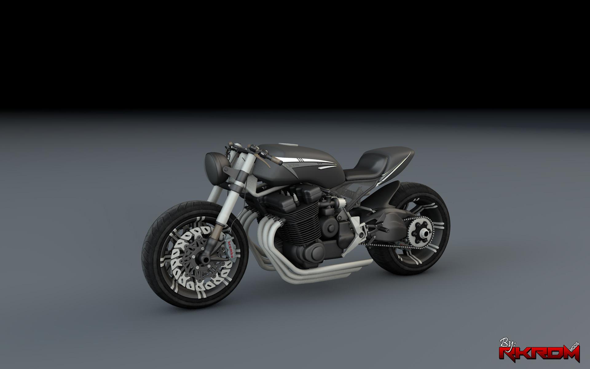 Honda CB 1800 Cafe Racer - GTA5-Mods com
